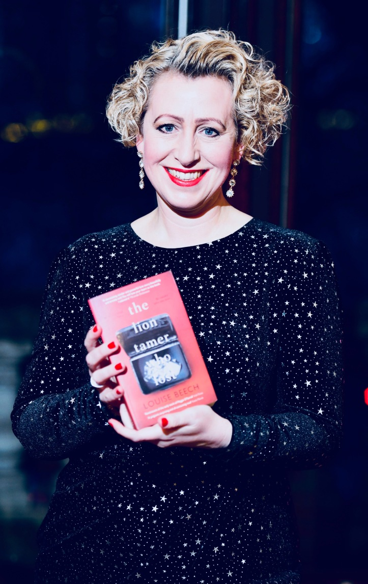 Louise Beech at the Romantic Novel Of The Year Awards, held at the Gladstone Library, London.
